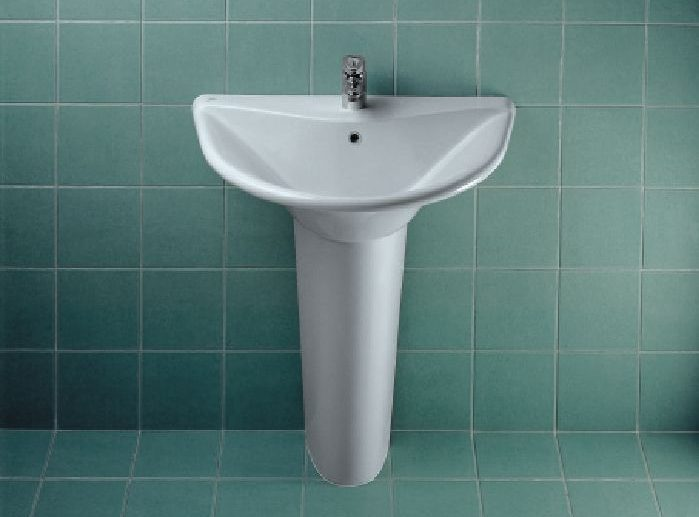 Diagonal lavabo 68 3x50 5 bianco ids t081000 ottogalli for Ideal standard diagonal